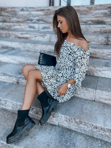 Dámské šaty španělské ELINE white