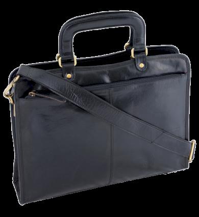 Elegantní aktovka na dokumenty, pánská kožená taška Always Wild