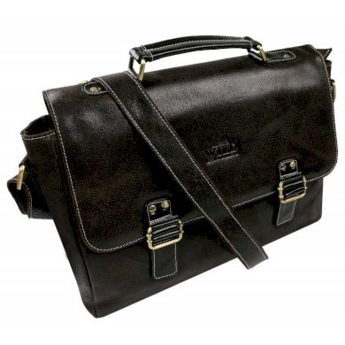 Pánská retro kožená taška na notebook