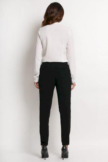 Elegantní košile s dlouhým rukávem a výstřihem do V A126