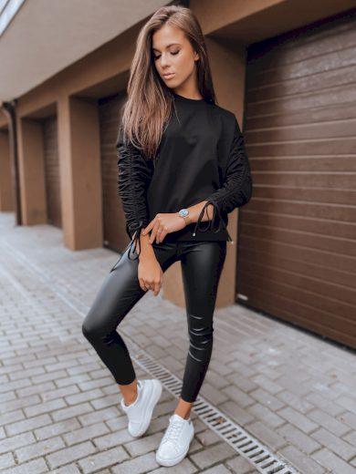 Dámská mikina NANCY v černé barvě Dstreet