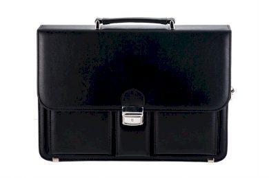 Aktovka kožená business taška na dokumenty MILTON ML37