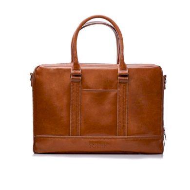 Elegantní kožená pánská taška přes rameno Solier SL02