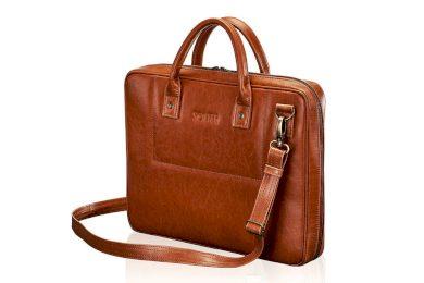 Kožená taška na notebook pánská aktovka SL21