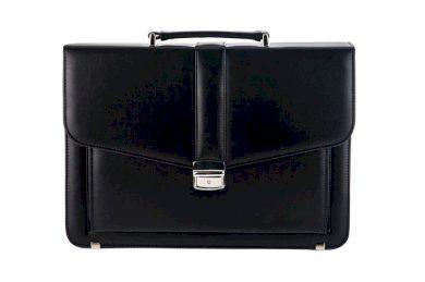 Obchodní taška na dokumenty kožená aktovka ML34