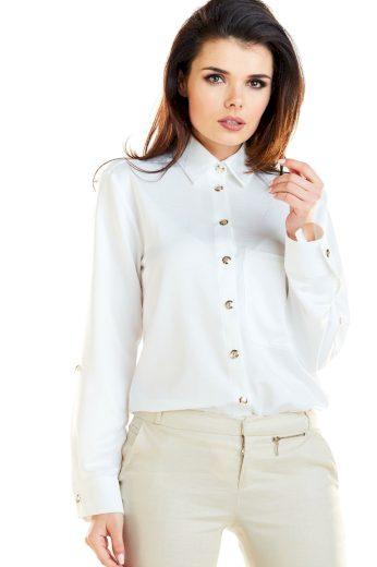 Klasická košile s dlouhými rukávy a nastavitelnou délkou A275