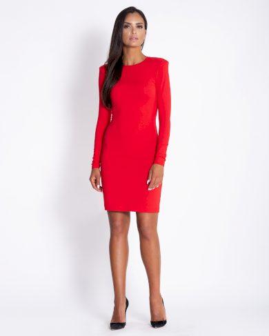 Elegantní obtažené šaty nad kolena zvýrazní postavu
