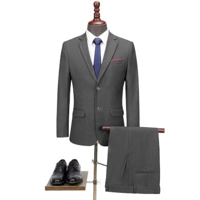 Pánský klasický společenský oblek černý dvoudílný oblek sako a kalhoty