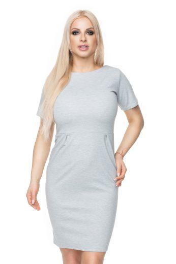 Klasické a elegantní šaty tužkové s krátkým rukávem