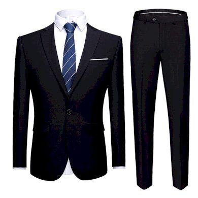 Pánský dvoudílný oblek společenský oblek na svatbu sako a kalhoty