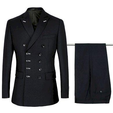 Společenský oblek dvoudílný originální sako s knoflíky + kalhoty