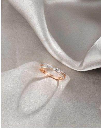 Dámský snubní prsten ze zlata minimalistického vzhledu
