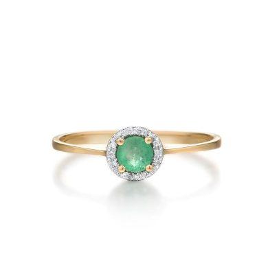 Tenký elegantní prstýnek minimalistického vzhledu