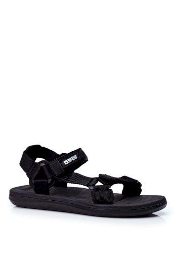 Pánské sportovní sandály Big Star černé FF174499