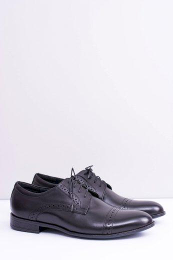 Formální pánské kožené boty Gerard černé