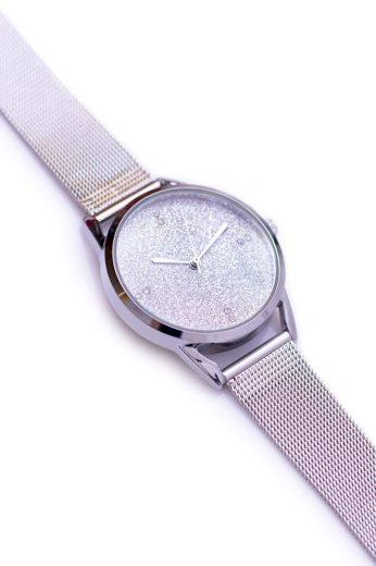 Stříbrné náramkové hodinky Michael John Rapter