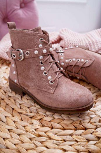 Dětské kotníkové boty Khaki Nargos
