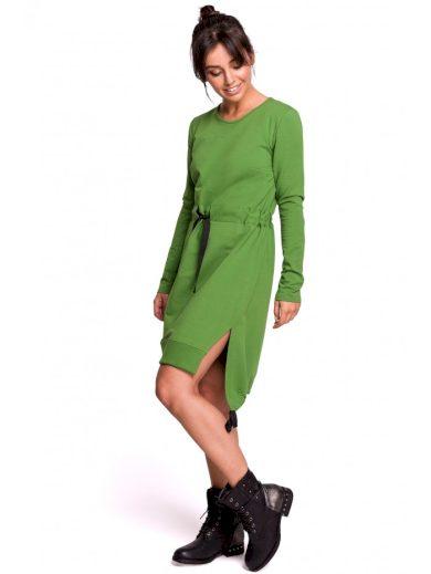 Bavlněné sportovní šaty s dlouhým rukávem BeWear B133