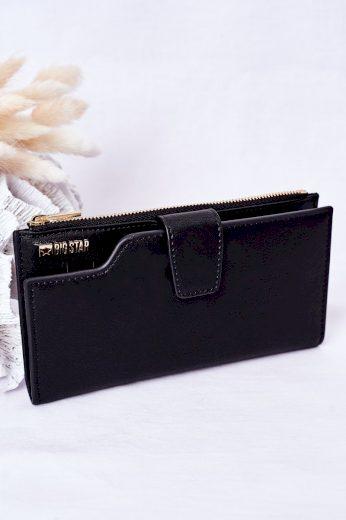 Kožená Peněženka Big Star HH674009 černá