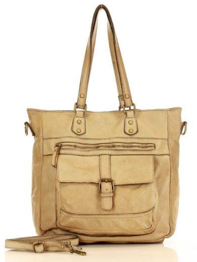 Kožená florentská kabelka shopper bag Marco Mazzini