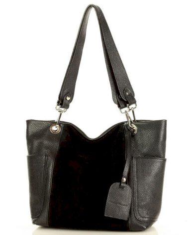 Městská kožená kabelka přes rameno tote taška Itálie
