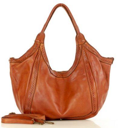 Shopper Kabelka handmade kožená nákupní taška MARCO MAZZINI