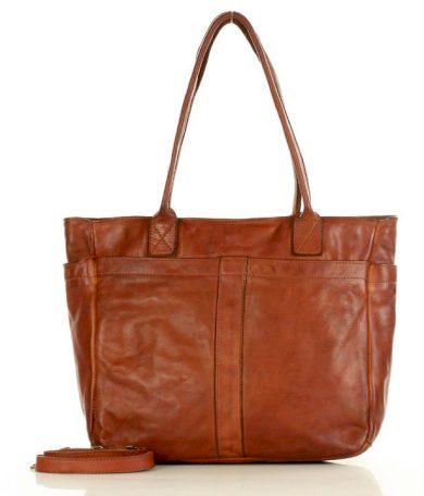 Kožená kabelka shopper leather taška inspirovaná přírodou