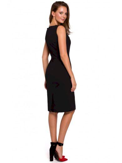 Pouzdrové šaty bez rukávů K004