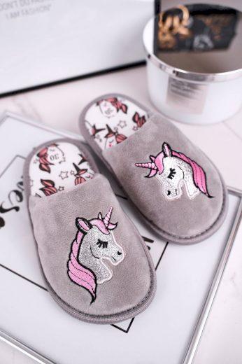 Dětské Domácí Pantofle S Jednorožcem Unicorn