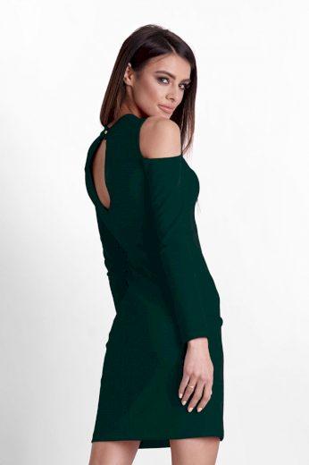 Pouzdrové mini šaty s odhalenými rameny