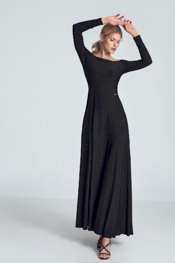 Maxi šaty s odhalenými rameny M707 FIGL
