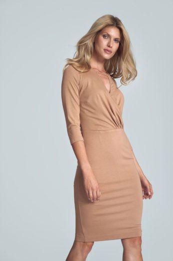 Pouzdrové šaty s průstřihem M715  FIGL