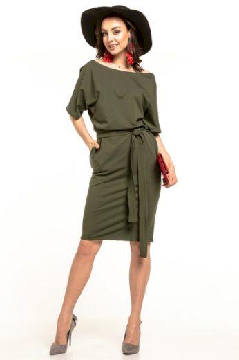 Pletené midi šaty T309 Tessita - různé barvy