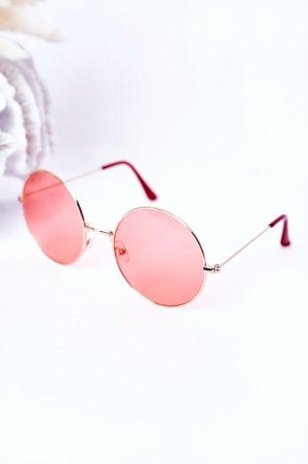 Stříbrné Sluneční Brýle Lennon Se šedými čočkami