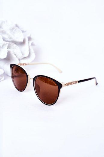 Dámské Sluneční Polarizované Brýle Hnědé