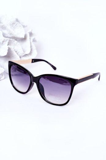 Dámské Sluneční Brýle Černé S Sedým Ombre