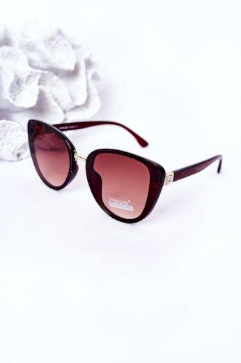 Dámské Sluneční Brýle Butterfly Hnědé-Béžové Ombre