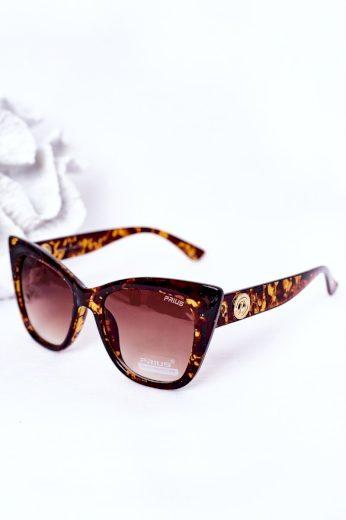 Dámské Sluneční Brýle Cat Eye Černé Ombre