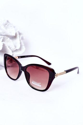 Dámské Sluneční Brýle Černé Ombre