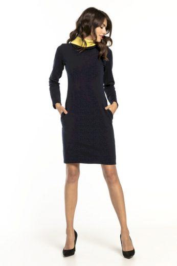 Mikinové šaty s komínem T294 TESSITA
