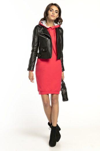 Sportovní šaty s kapucí T292 TESSITA