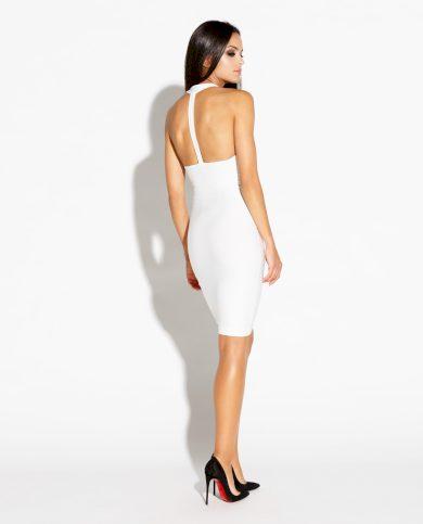 Elegantní šaty Sitru společenské s odhalenými zády