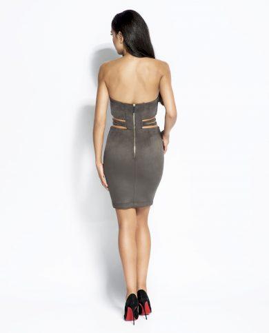 Večerní mini šaty Sue s odhalenými zády DURSI
