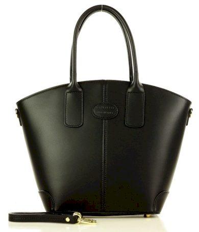 Marco Mazzini italská kabelka trapézová taška kůže