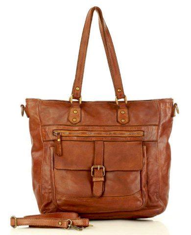 Kožená kabelka florentine shopper taška Marco Mazzini