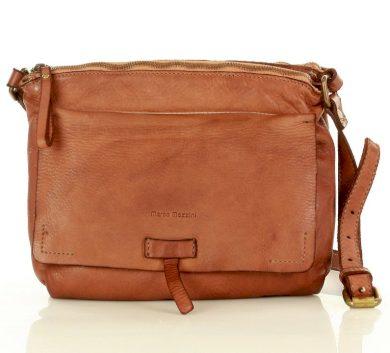Kožená kabelka messenger retro taška MARCO MAZZINI