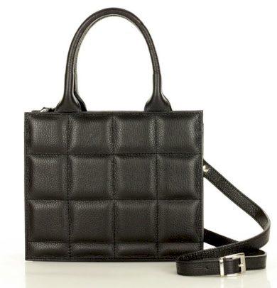 Kabelka typu kufřík pravá kůže originální italská taška