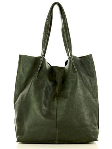 Kožená kabelka shopper taška tote old leather kůže