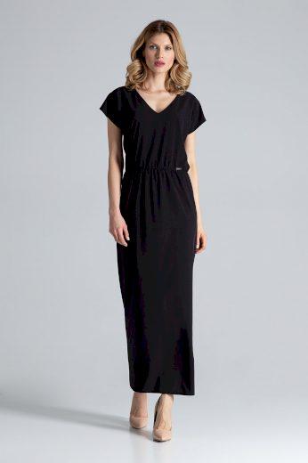 Maxi šaty s gumičkou v pase M668 FIGL