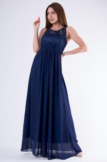 Dámské společenské šaty s krajkou svatební šaty bez rukávů